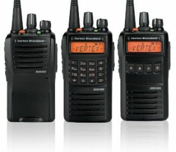 Vertex radios and antennas