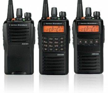 Радіостанції вертекс та антени