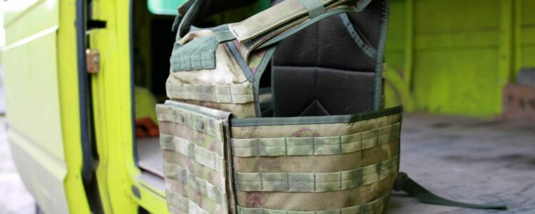 Tactical kevlar gloves and plate carriers for Mykolaiv top-secret subdivision