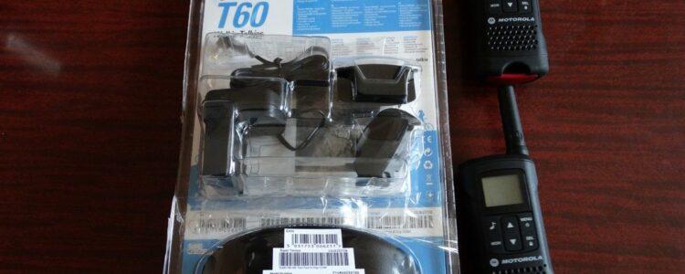 В частину переданий комплект рацій Motorola TLKR T60