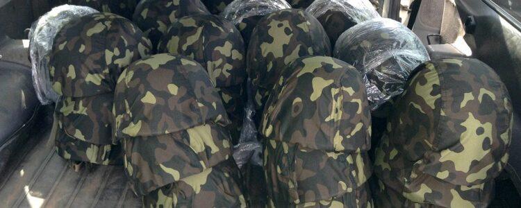 60 шоломів херсонським прикордонникам передано