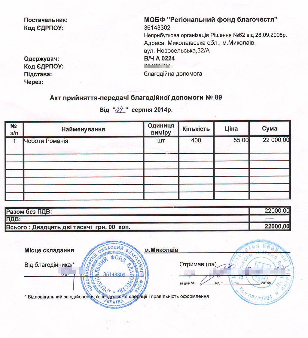 Акт89 від 24.08.2014
