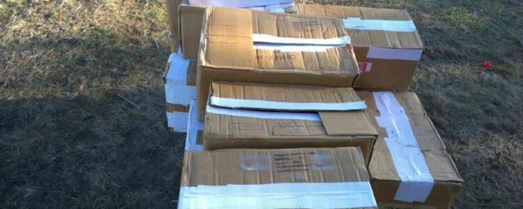 На в'їзді до зони АТО десантники 79-ї бригади отримали гуманітарну допомогу