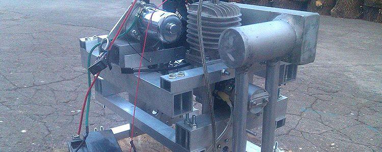 Супер пропелери від Українського виробника та перший запуск двигуна на вулиці.