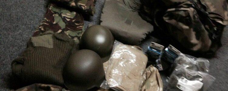Одяг і два комплекти тюнінгу для АК отримав від нас боєць батальйону «Артемівськ».