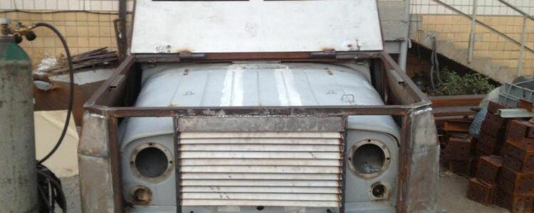 Бронювання другого УАЗ для 51 бригади та передача позашляховика на бронювання у Запоріжжя