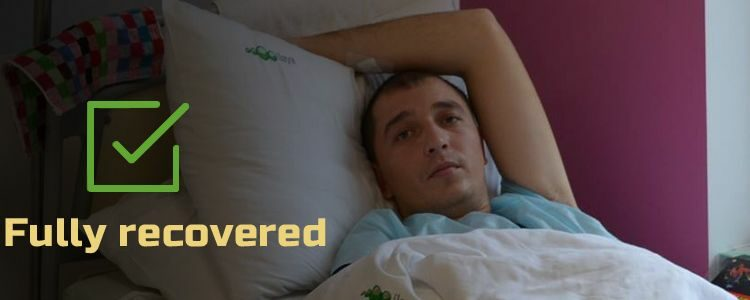 Sergiy, 26. Fully recovered