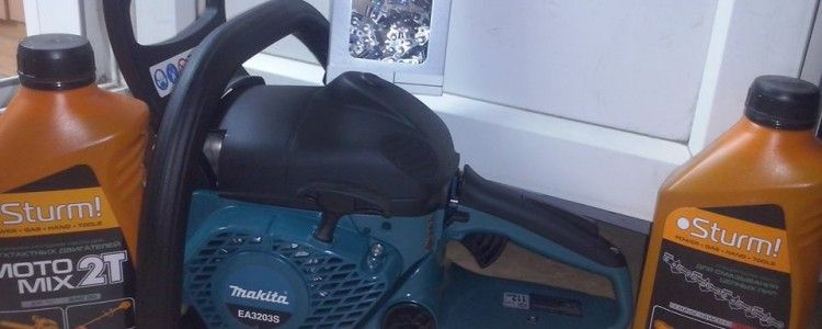 Makita chain saw handed over to military