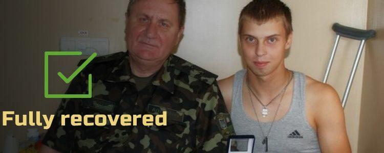 Volodymyr, 19. Fully recovered