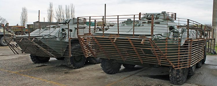 Екранування БТР-70 для 299 бригади