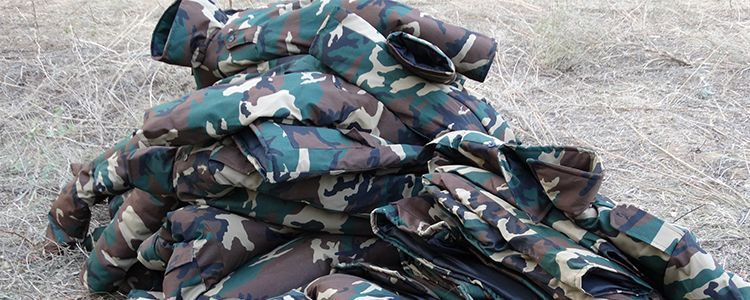 Теплі речі та волого-захисні костюми для артилеристів