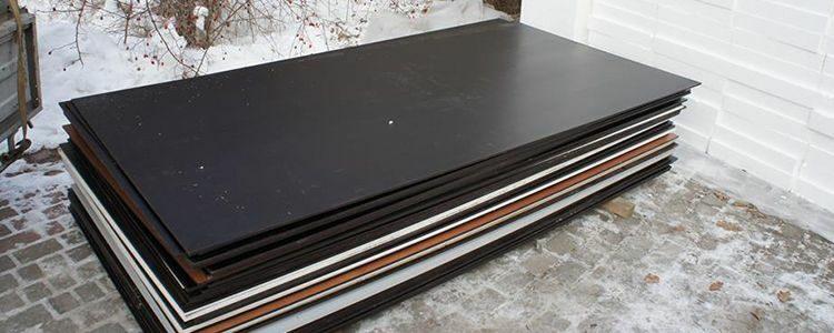 Ukrainian plywood for blindage