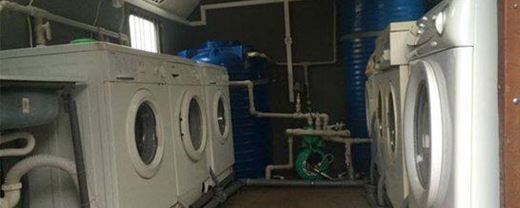 Перший пральний комплекс на тестуванні