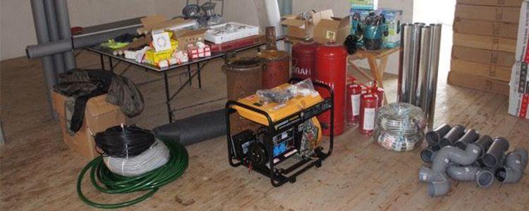 Перевірка комплектації бліндажу перед відправкою