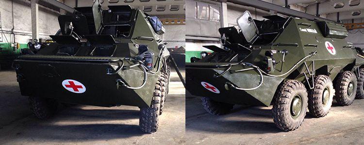 Офіційна передача броньованої швидкої допомоги на базі БТР
