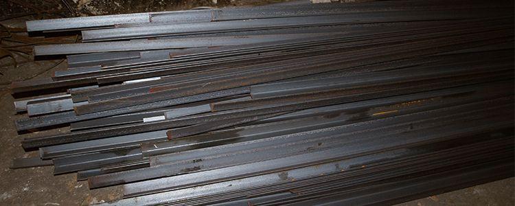 Angle-iron for armoring