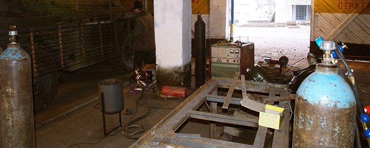 Газорізальне обладнання та інструменти для виготовлення броні