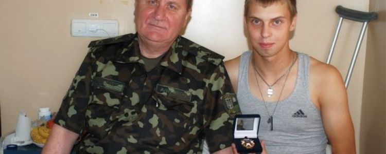 Electrolux sponsors young soldier Volodymyr's treatment