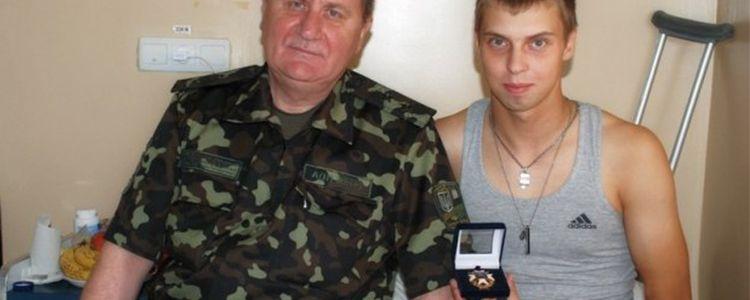Спонсорська допомога від Electrolux на лікування молодого бійця Володимира