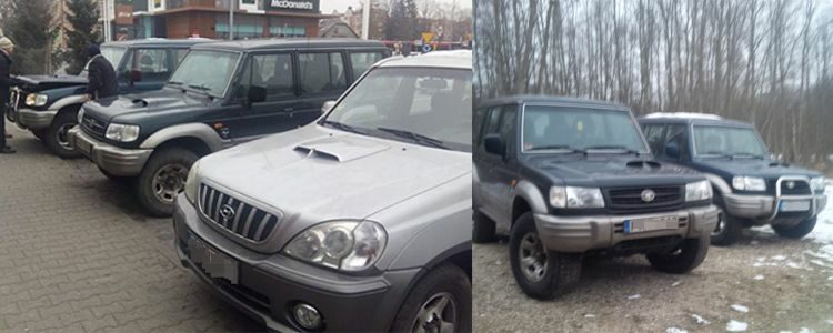 Придбання трьох позашляховиків  Hyundai
