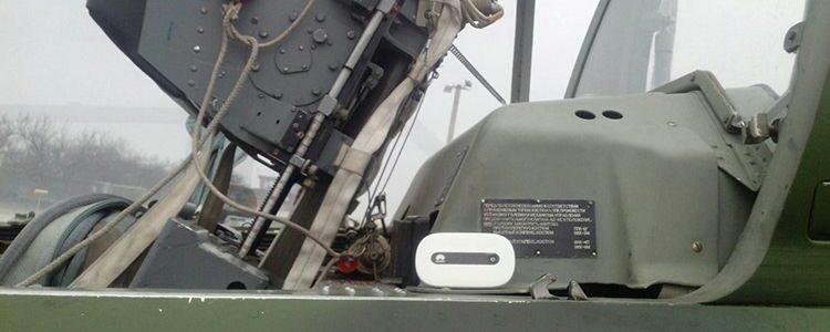 Wi-Fi роутер для пілотів штурмовиків
