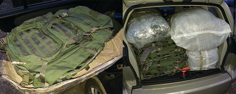 Тактичні рюкзаки відправили до підрозділу