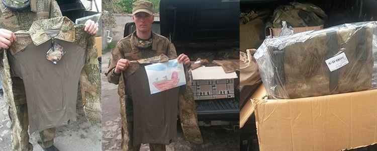 Tactical shirts for 79th Brigade unit