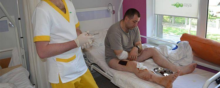 Відновлення бійця Івана після операції