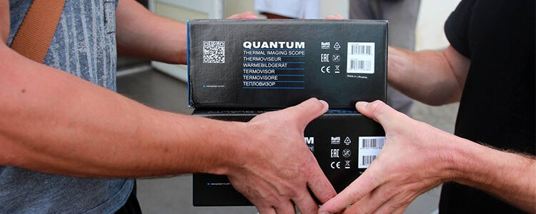 Three Pulsar Quantum HD 38S thermal imagers purchased