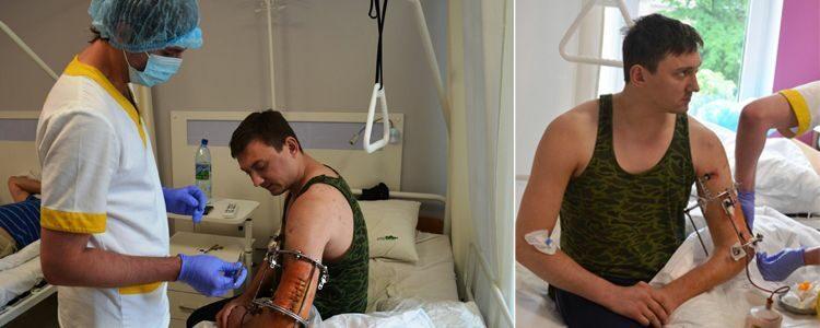 Виконана основна операція на плечі Євгена