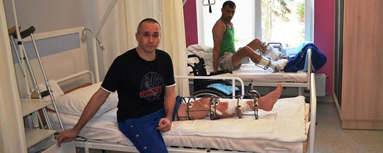 Serhiy prepares for surgery