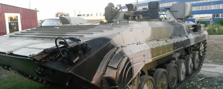 Repair of reconnaissance vehicle based on IFV