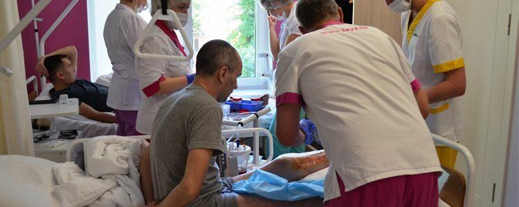 Serhiy undergoes complex operation