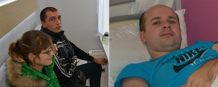 Payment for Sergiy's and Viktor's treatment made