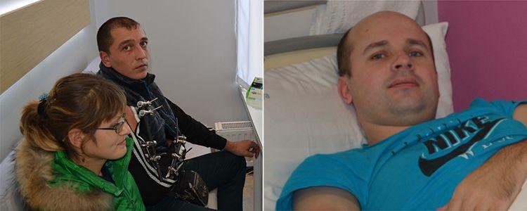 Оплата за лікування Сергія і Віктора надійшла до клініки