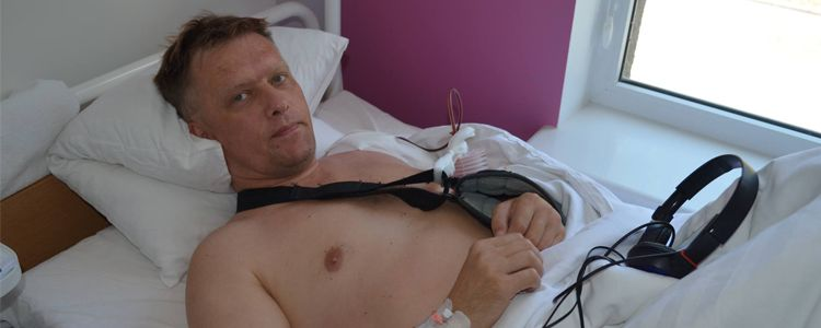 Sviatoslav, 46. Treatment completed, rehabilitation is in progress | People's project