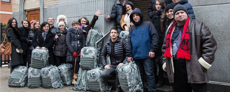 Backpacks for the Armed Forces of Ukraine