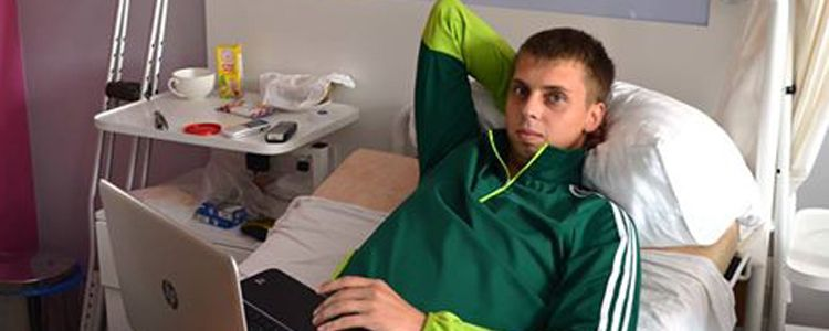 Volodymyr goes home to recuperate