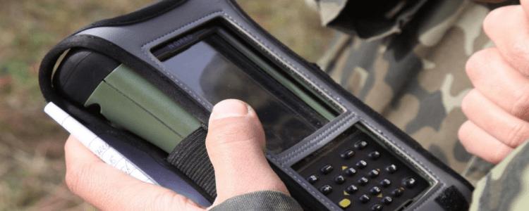 Modern technology to serve artillery