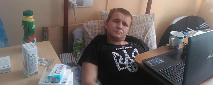 Віктор А., 21 рік. Триває реабілітація.