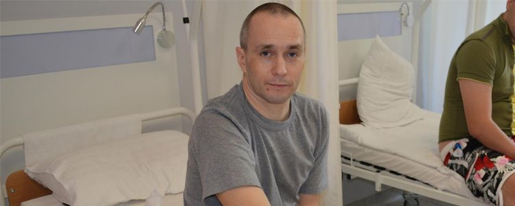 Serhiy, 38. Treatment is in progress | People's project