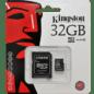 Карта пам'яті Micro SDHC 32 Gb