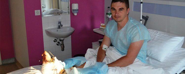 Перший етап оперативного лікування Олександра