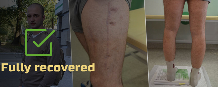 Dmytro, 25. Treatment successfully completed