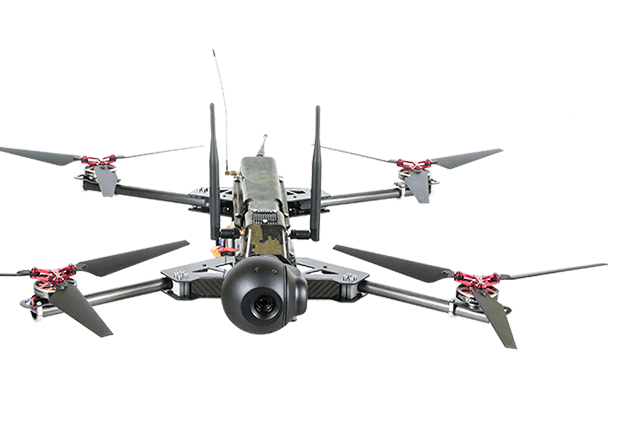 Five   Quadcopters PC-1
