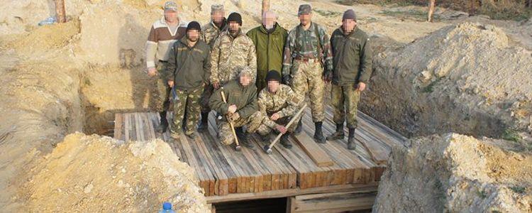 Бліндажі для 81-ої бригади