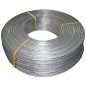 Uncoated wire