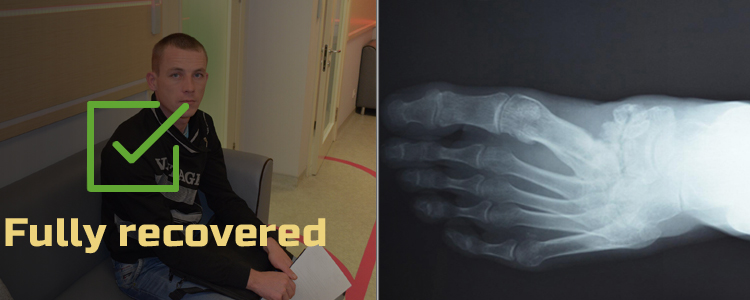 Oleksandr, 27. Treatment successfully completed