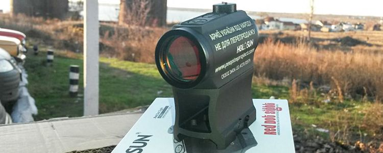 Holosun red dot sight for legendary 79th Brigade
