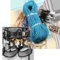 Set of climbing gear